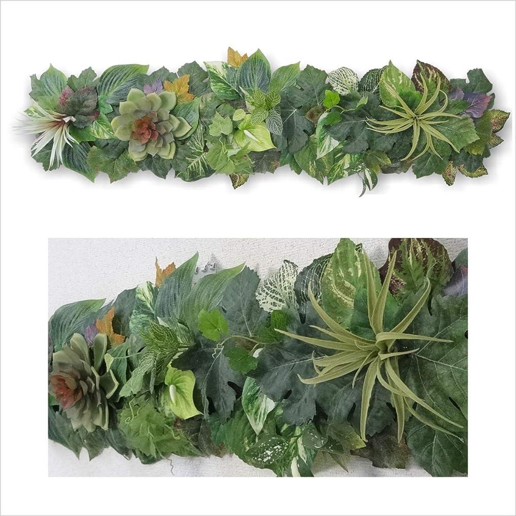 瞑想する場所耐えられるgf 観葉植物 インテリア 壁掛け 多肉植物 フェイク グリーン アートパネル 絵画 プレゼント