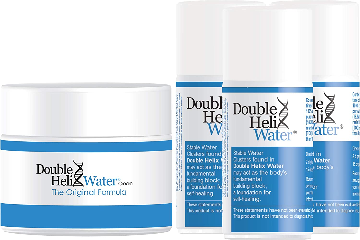 Double Helix Water The Original Quantity limited and Cream Formula New Orleans Mall W