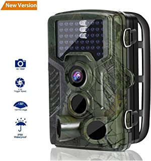Cámara de camuflaje para rastreo de presas y caza 12 megapíxeles infrarrojos para visión nocturna diseño IP56 resistente al agua para observación y vigilancia de animales o eventos