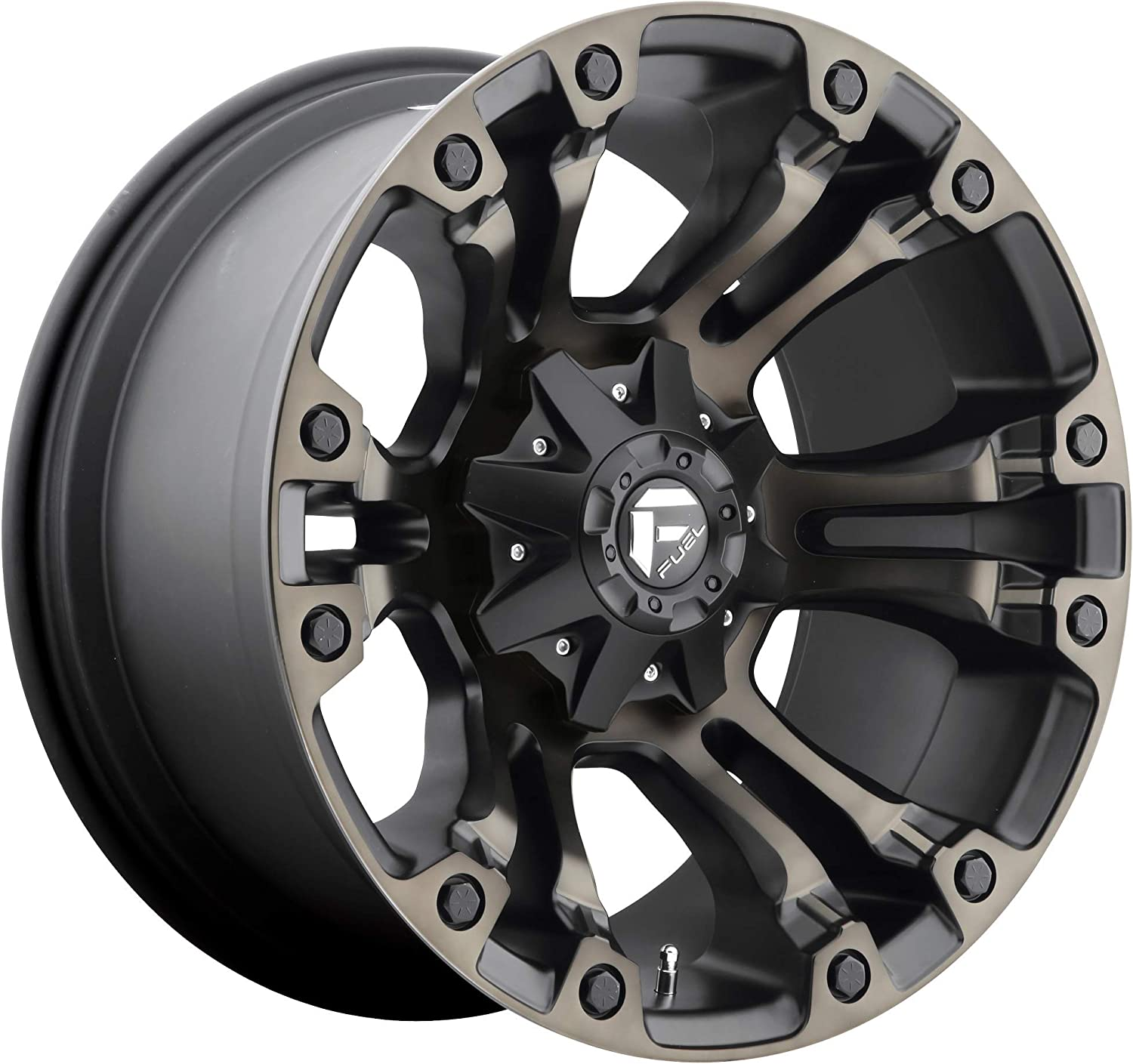 Fuel Offroad D56918902645 BLACK Wheel with inch Painted Max 48% OFF 9. Los Angeles Mall 18 x
