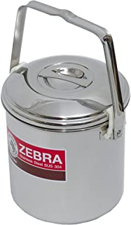 Zebra Brand14 Centimeter Loop Handle Stainless Steel Pot