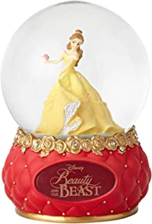 "Enesco Disney Showcase Beauty and The Beast, 5.5"" Stone Resin and Glass Waterball"