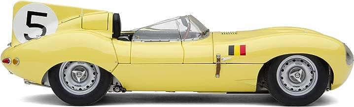 1956 Exoto Jaguar D-Type 'Short Nose' Equipe Nationale Belge #5