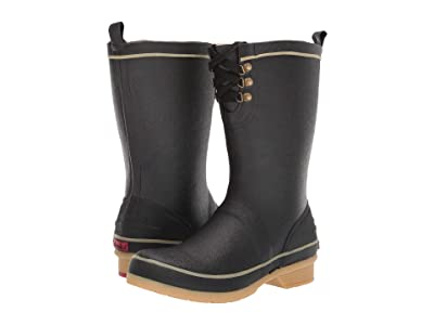 Chooka Whidbey Plush Rain Boot (Black) Women