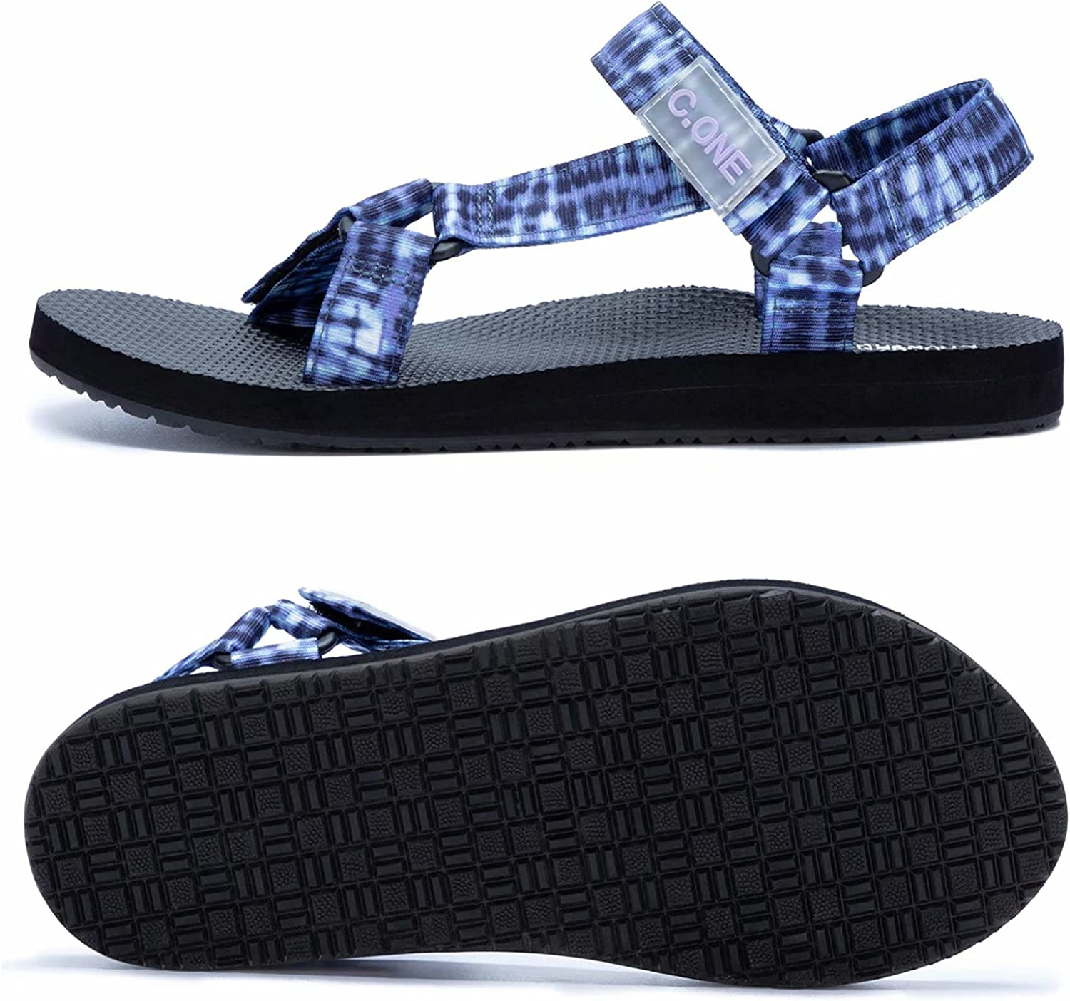Women's Strap Sport Sandals Arch Support Outdoor Wading Beach Water Shoes