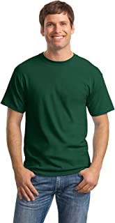 Hanes Men's Comfortsoft 6 Pack Crew Neck Tee - Deep...