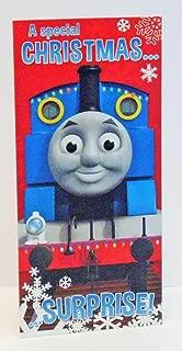 Thomas The Tank Engine Christmas Money Wallet Card