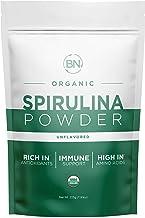 Spirulina Powder Organic - USDA Certified - RAW Nutrient Dense Over 70% Protein Per Serving - Purest Source Vegan Protein ...