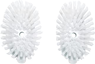 OXO Good Grips Soap Dispensing Dish Brush, Nylon, White, 2-Pack