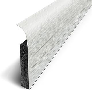 Lote 3M de 5 zócalos adhesivos 120x 70cm, blanco, D180514D