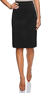 oodji Collection Women's Basic Pencil Skirt