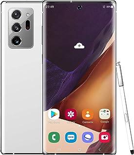 スマートフォン本体、SIMフリーAndroid携帯電話、4GB / 128GB、6.9インチ曲面スクリーン、24MP / 48MPトリプルカメラ、5500mAhバッテリー、4GデュアルSIM、グローバルバージョン(2020)
