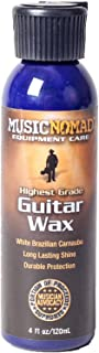 Music Nomad MN102 Premium White Brazilian Carnauba Guitar Wax, 4 oz.