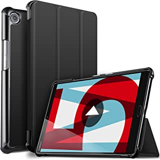 IVSO Huawei MediaPad M5 8.4 タブレット ケース 新型 Huawei 8.4インチ MediaPad M5 8.4 スタンド機能付き 保護ケース 三つ折 マグレット開閉式 薄型 超軽量 全面保護型 Huawei M5 ...
