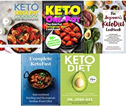 Set of 5 books collection : Keto Diet: Your 30-Day Plan to Lose Weight,The Beginner's KetoDiet Cookbook,Complete KetoFast ...