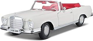 1:18 Scale - Mercedes 280SE & Cabrio `67 Cream - Special Edition