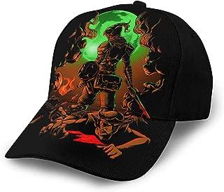 Men Women Adjustable Baseball Cap Anime Goblin Slayer Hip Hop Cap Black