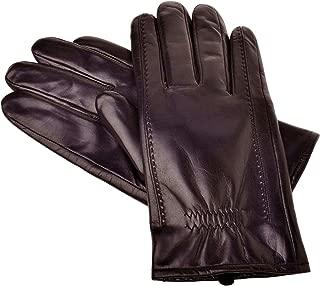 Men's Buttery-Soft Lambskin Winter Leather Gloves Wool Lined