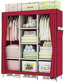 Penderies Armoire Murale détachable Pratique, Tissu Pliable Une Armoire Simple, Organiser des vêtements soigneusement et e...