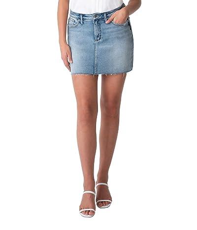 Silver Jeans Co. Francy Mid-Rise Miniskirt L33160EPK280