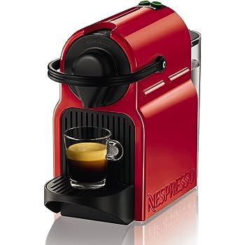 Nespresso Inissia - Machine à capsules - Rouge rubis - Krups YY1531FD