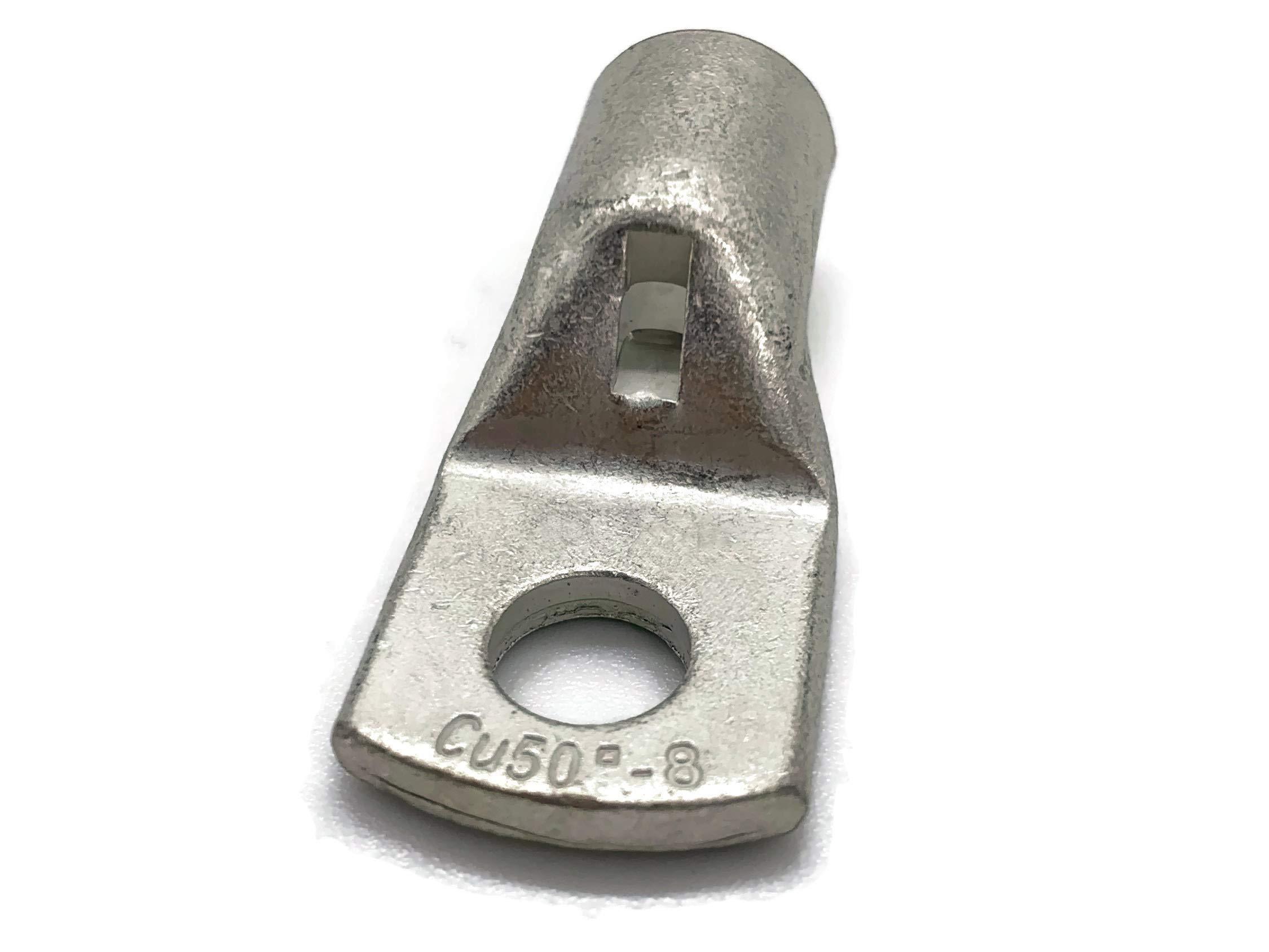 Terminal de cable 50mm2 M10 4x anillo ojal de presi/ón ojal