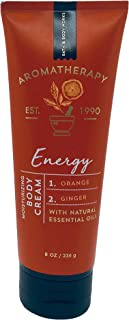 Bath & Body Works, Aromatherapy Energy Body Cream, Orange Ginger, 8 Ounce