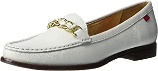 MARC JOSEPH NEW YORK Women's Leather Chain Detail Park Ave South Loafer