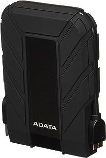ADATA Disco Duro Externo HDD HD710P, 2 TB,Resistente a golpes,agua y polvo, certificación grado militar, Color Negro