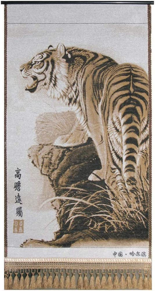 Wall Tapestry Tiger Curtains Sheets Now on sale Luxury Tablecloths Yellow