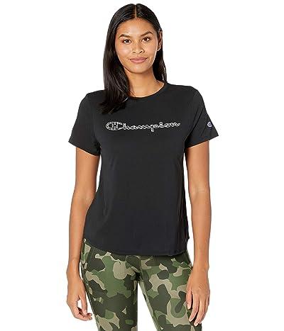 Champion Sport Lightweight T-Shirt (Black) Women