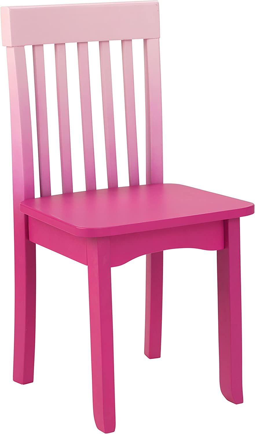 KidKraft Avalon Chair, Hot Pink Ombre
