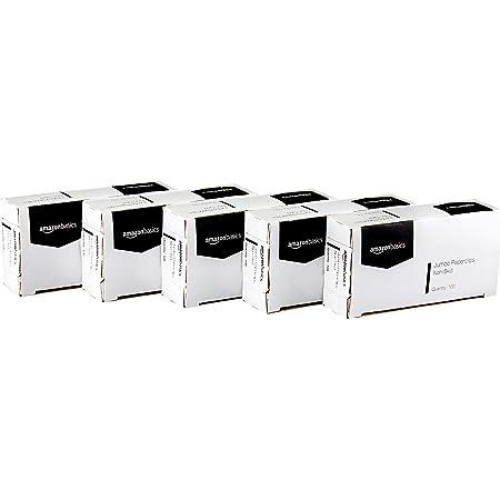 Amazon Basics Jumbo Size Office Paper Clips, Non skid, 100 per Box, 10-Pack