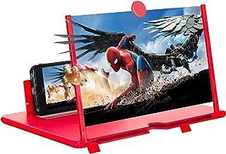 Telefoonscherm Vergrootglas, 3d 10 Inch scherm Vergroter zoomen 2-4 keer voor alle smartphone, voor ouden, kinderen, filml...