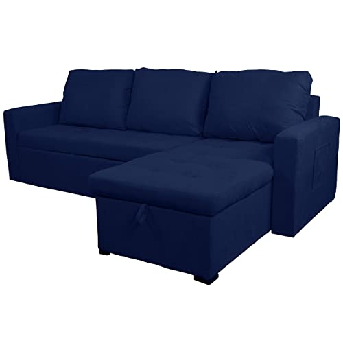Small Sectional Sleeper Sofa: Amazon.com