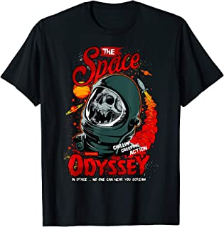 ROCKSTAR Skull in the Space - Zombie Astronaut - Odyssey T-Shirt