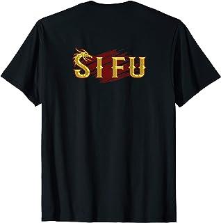 SI FU Chinese martial arts teacher, Sifu, Shifu Kung Fu T-Shirt