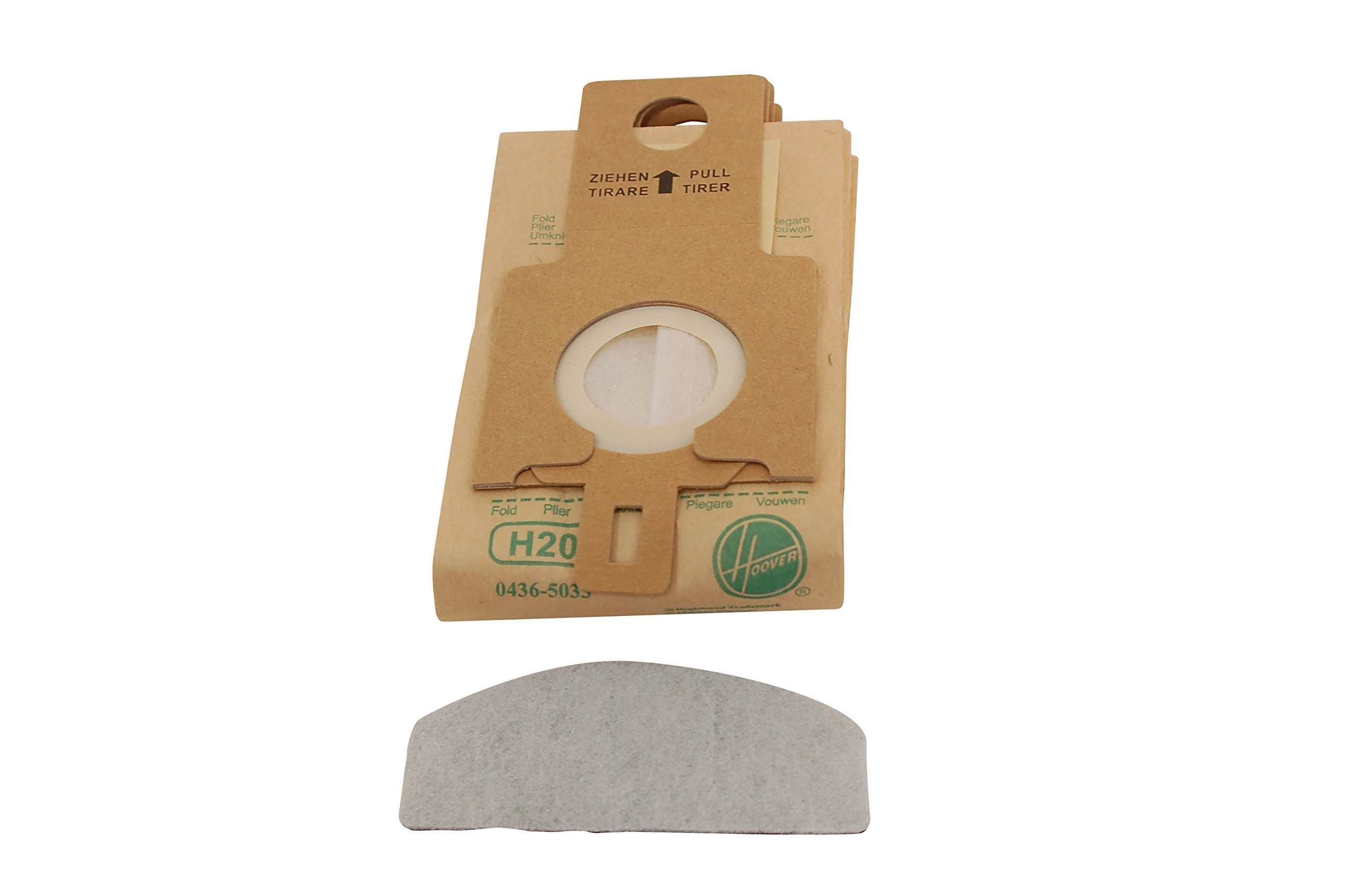 Hoover Genuine H20 Purepower Upright Replacement Bags