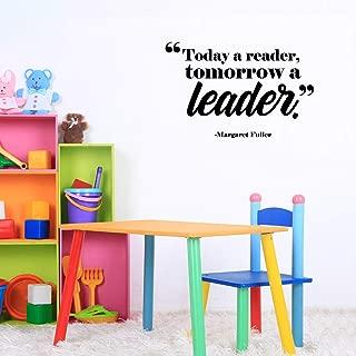Vinyl Wall Art Decal - Today A Reader Tomorrow A Leader - 17