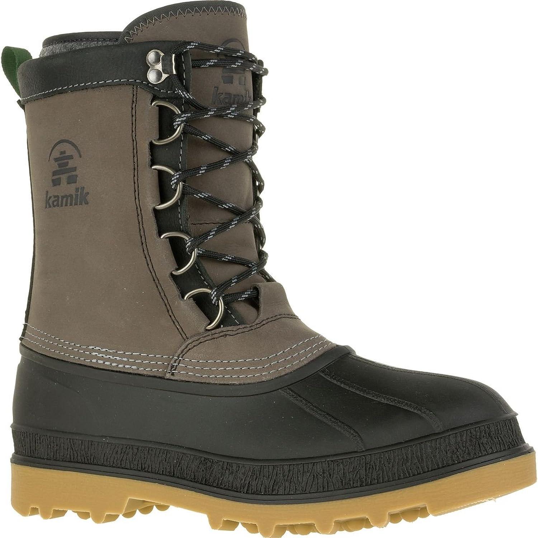 Kamik William Schuhe Herren Winter-Stiefel Winter-Stiefel Schnee-Schuhe Schnee-Stiefel Grau, Größenauswahl 46  niedrige Preise