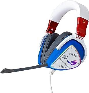 ASUS ROG Delta GUNDAM EDITION Gaming Headset (Limited Edition, AI Noise-Canceling Mic, Hi-Res ESS 9281 QUAD DAC, USB-C, AU...
