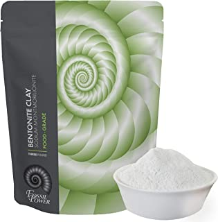 Food Grade Sodium Bentonite Clay - 3 LB Bentonite Montmorillonite Powder - Safe to Ingest for The Ultimate Internal Detox or Make a Clay Facial Treatment