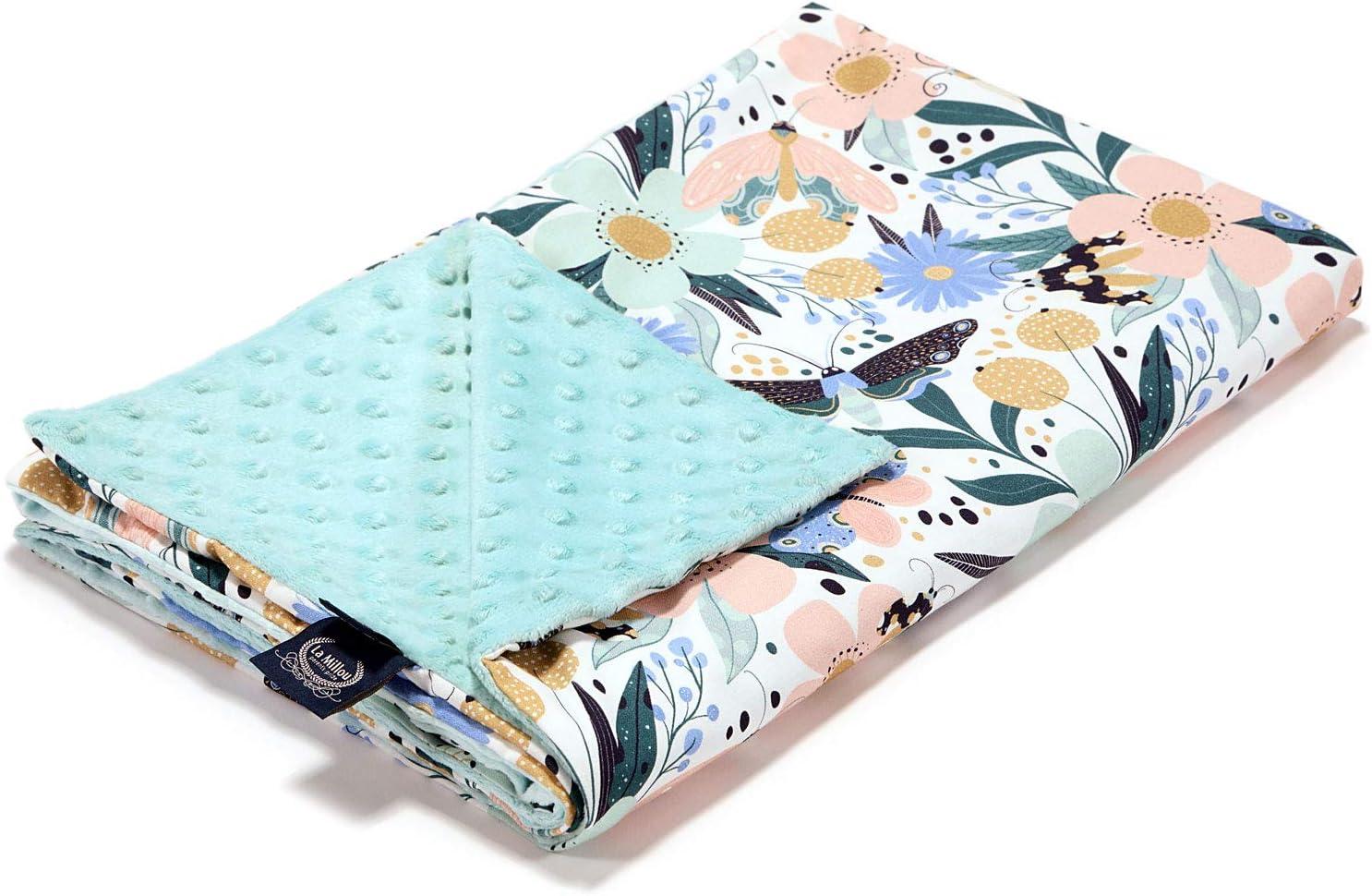 La Millou - Children Blanket 正規逆輸入品 Cotton Fairy X Minky 期間限定特価品 44 55in