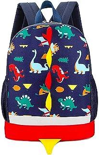 Mochila Infantil de Dinosaurios Mochila para Niños Infantil Guarderia Mochila Escolar (Azul Oscuro)