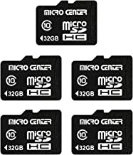 Micro Center 32GB Class 10 Micro SDHC Flash Memory Card...