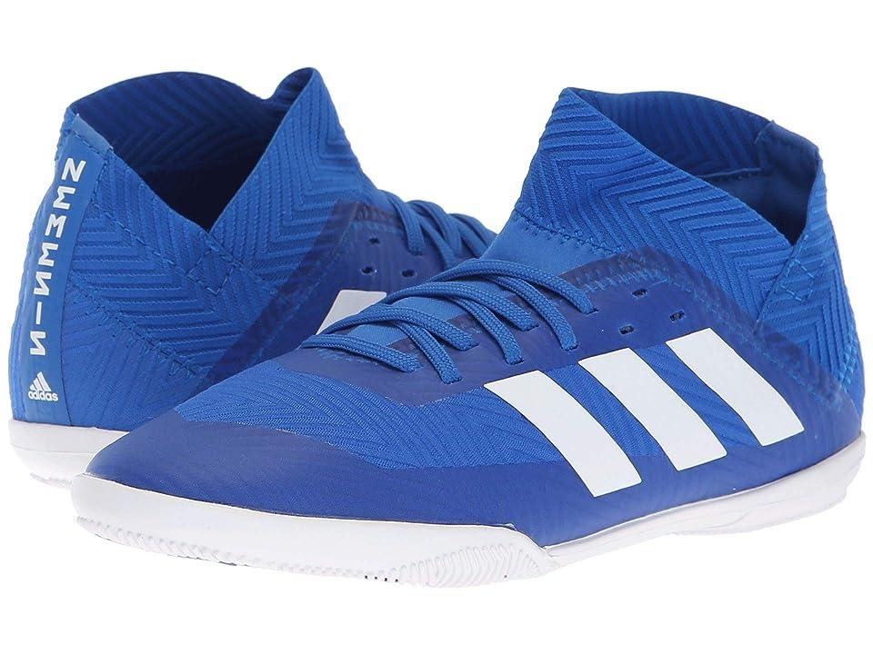 adidas Kids Nemeziz Tango 18.3 IN Soccer (Little Kid/Big Kid) (Blue/White) Kids Shoes