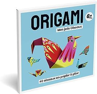 Kit Papier Origami 🌟 Jeux Educatif Facile⚡ Activites Manuelles pour Enfants Fille Garçon, Loisir Creatif Enfant, Carnet P...