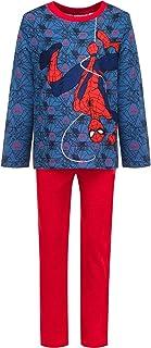 Marvel Spiderman Pyjama /à capuche pour gar/çon brille dans le noir