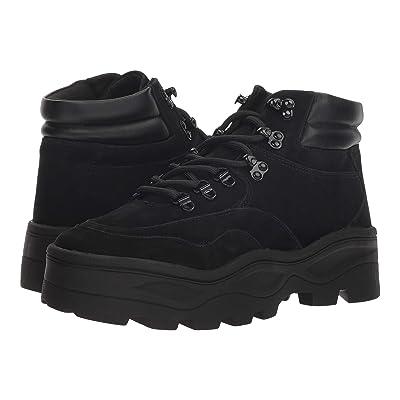 Steve Madden Rockie Hiker Boot (Black Nubuck) Women
