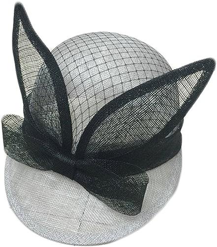 Ying xinguang Chapeau de Gaze de Chanvre Oreille Chapeau Couleur Pure Gaze Net Chapeau de Plage Ancienne Ombre Chapeau